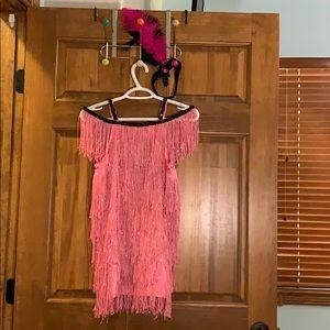 Girls 1900's flapper costume